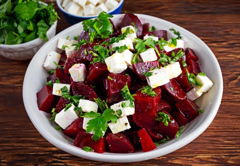 Einfach und Lecker: Rote Beete mit Feta